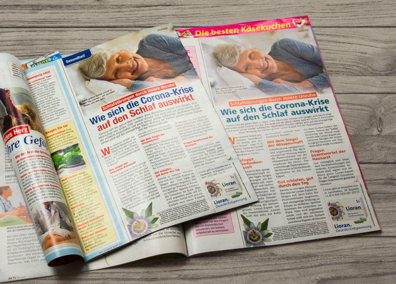 Print Lioran Anzeige für Niehaus Pharma